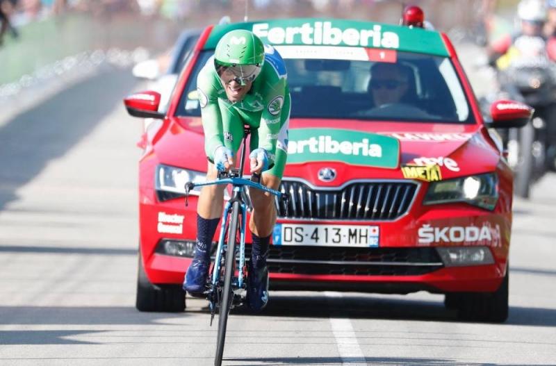 Алехандро Вальверде и Наиро Кинтана о 16-м этапе Вуэльты Испании-2018