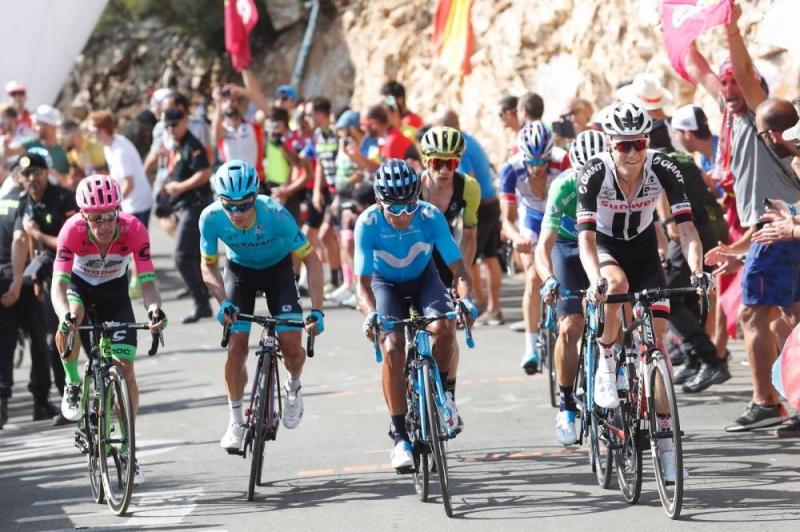 Оскар Родригес, Хесус Эррада, Саймон Йейтс, Наиро Кинтана, Мигель Лопес, Дилан Тёнс о 13-м этапе Вуэльты Испании-2018