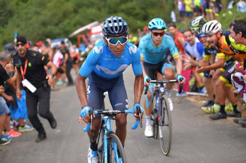 Саймон Йейтс, Мигель Лопес, Алехандро Вальверде, Наиро Кинтана, Стевен Крёйсвейк о 14-м этапе Вуэльты Испании-2018