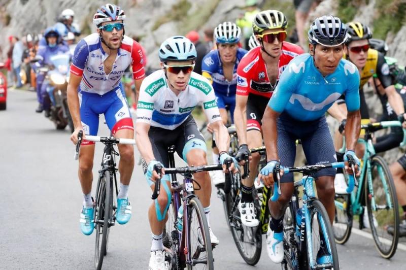 Тибо Пино, Саймон Йейтс, Мигель Лопес, Алехандро Вальверде, Наиро Кинтана о 15-м этапе Вуэльты Испании-2018