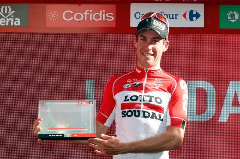 Йелле Валлайс – победитель 18 этапа Вуэльты Испании-2018