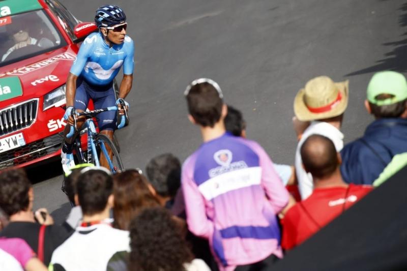 Алехандро Вальверде и Наиро Кинтана о 19-м этапе Вуэльты Испании-2018