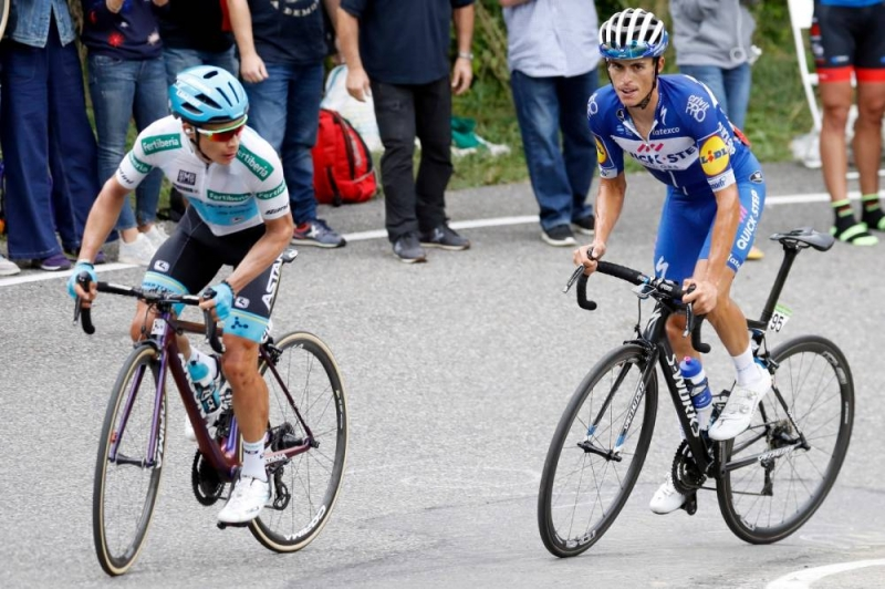 Энрик Мас - победитель 20 этапа Вуэльты Испании-2018