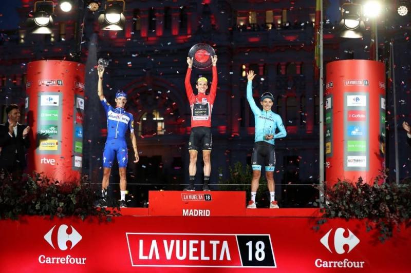 Саймон Йейтс – победитель Вуэльты Испании-2018