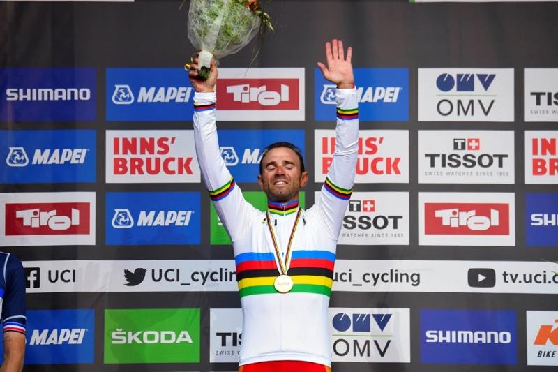 Алехандро Вальверде – чемпион мира-2018 в групповой гонке