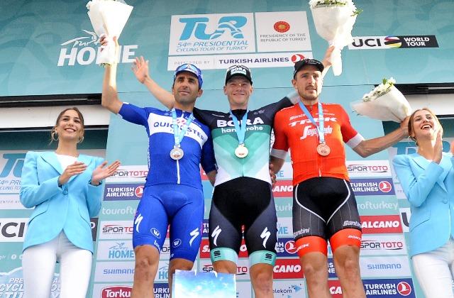 Сэм Беннетт – победитель 3 этапа Тура Турции-2018