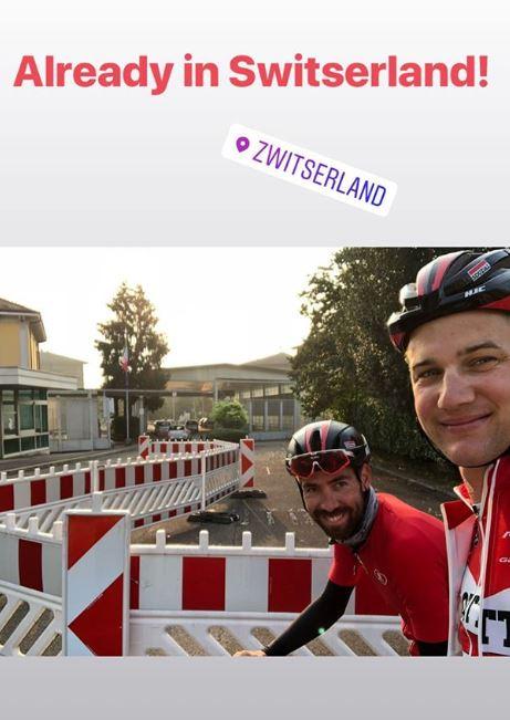 Томас де Гендт и Тим Велленс: из Италии до Бельгии за шесть дней на велосипедах