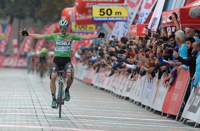 Сэм Беннетт – победитель 6 этапа, Эдуард Прадес – победитель Тура Турции-2018