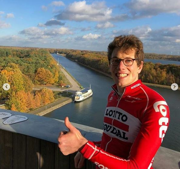 Стиг Брукс вернулся на велосипед, восстановившись после комы