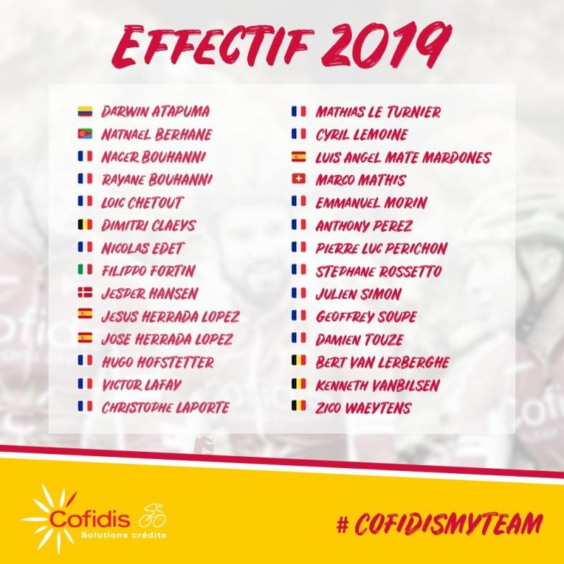 Седрик Вассёр: «Команда Cofidis должна выступать так, будто является командой Мирового тура»