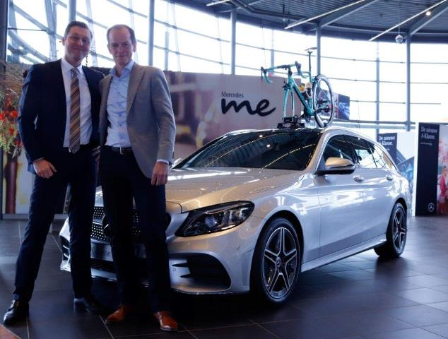 Компания Mercedes-Benz – партнёр команды Jumbo с 2019 года