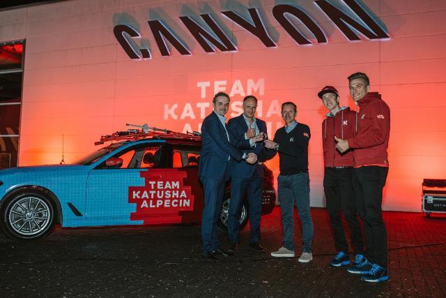 Команда Katusha-Alpecin выбрала компанию BMW в качестве официального партнёра