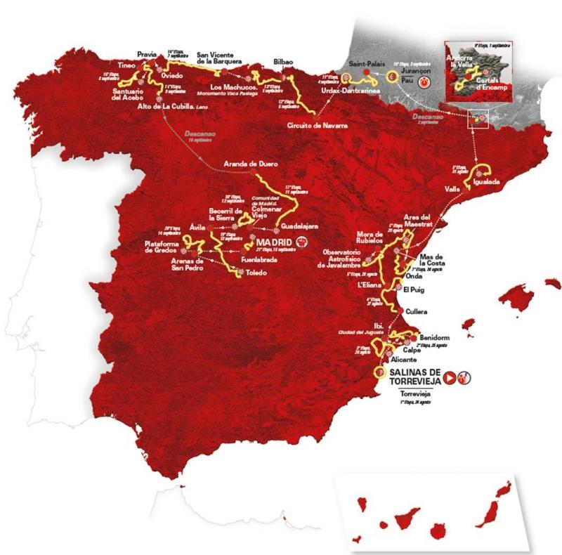 Страницы истории велоспорта: Вуэльта Испании - 2019