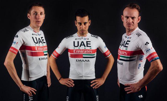 Велоформа команды UAE Team Emirates на 2019 год