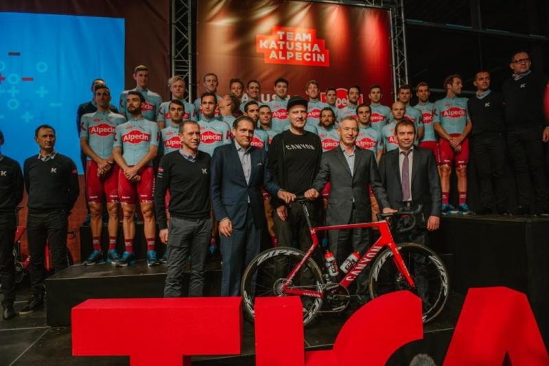 Состав команды Katusha-Alpecin на 2019 год