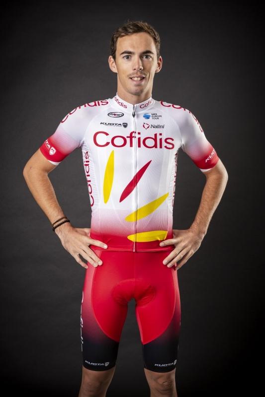 Велоформа команды Cofidis на 2019 год