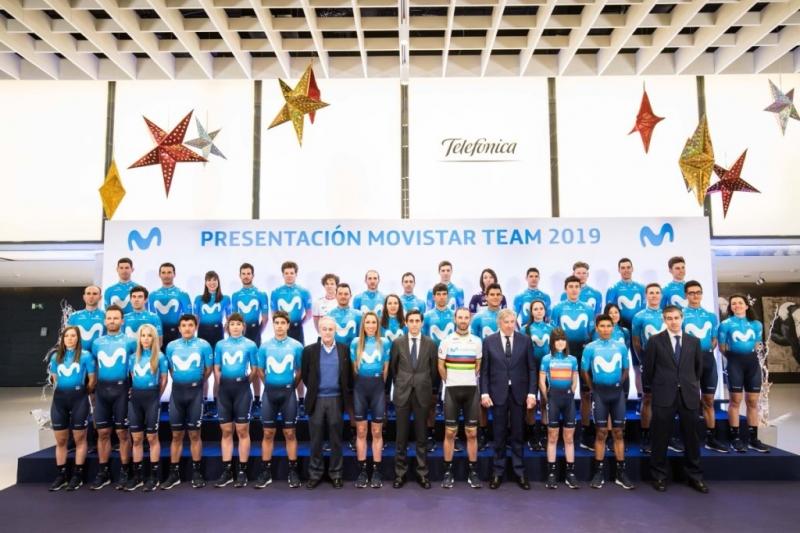 Состав команды Movistar на 2019 год