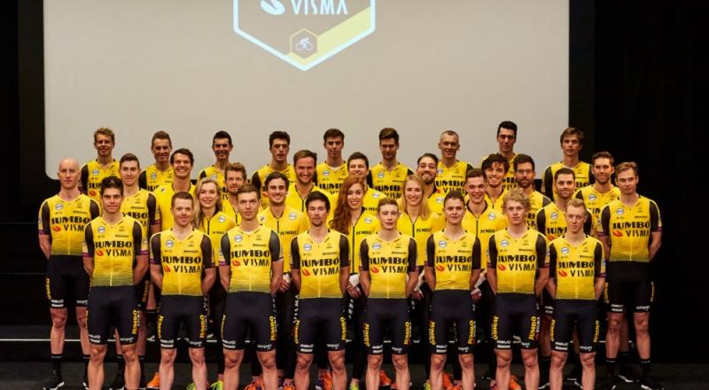 Состав команды Jumbo-Visma на 2019 год