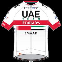Команды Мирового Тура 2019: UAE Team Emirates (UAD) - UAE