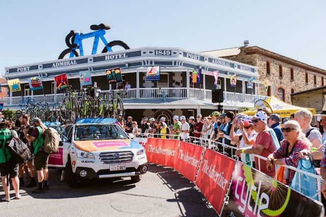 Организаторы Тура Даун Андер-2019 сократили 1-й и 2-й этапы