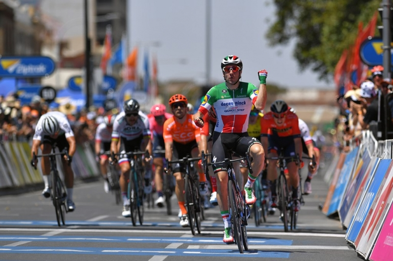 Элиа Вивиани – победитель 1 этапа Тура Даун Андер-2019