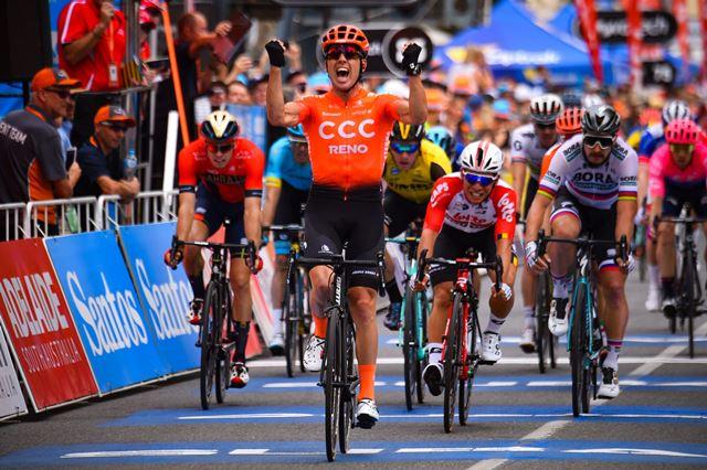 Патрик Бевин – победитель 2 этапа Тура Даун Андер-2019