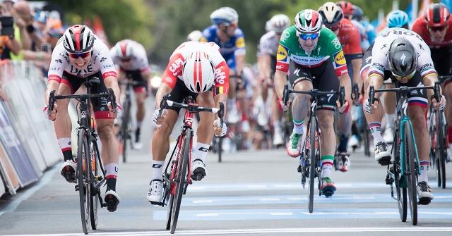Калеб Юэн лишён победы на 5-м этапе Тура Даун Андер-2019