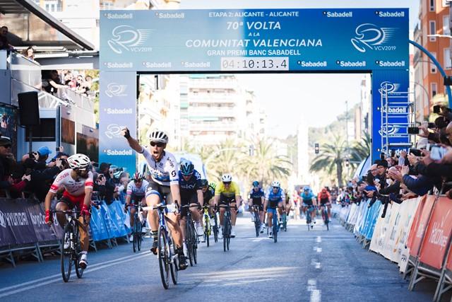 Маттео Трентин – победитель 2 этапа Вуэльты Валенсии-2019