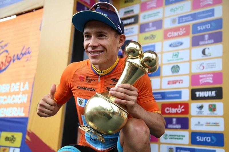Мигель Анхель Лопес выигрывает «Тур Колумбии»