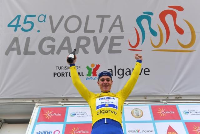 Фабио Якобсен - победитель 1 этапа Вольты Альгарве-2019