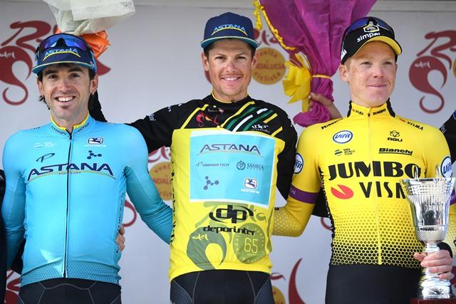 Двойная победа «Астаны»: Якоб Фульсанг выигрывает «Вуэльту Андалусии-2019», Йон Исагирре - второй
