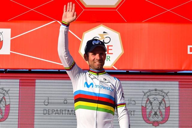 Первая победа Алехандро Вальверде в майке чемпиона мира