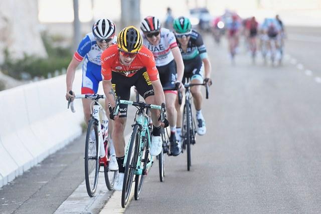 Примож Роглич, Эмануэль Бухманн, Дэн Мартин о 3-м этапе Тура ОАЭ-2019