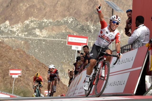 Калеб Юэн - победитель 4 этапа Тура ОАЭ-2019