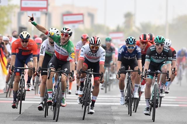 Элиа Вивиани, Фернандо Гавирия, Марсель Киттель, Примож Роглич о 5-м этапе Тура ОАЭ-2019