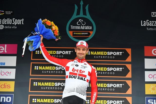 Виктор Кампенартс – победитель 7 этапа Тиррено-Адриатико-2019