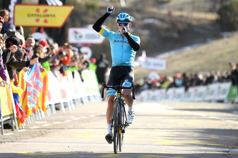 Вуэльта Каталонии. Этап 4. Мигель Анхель Лопес выигрывает королевский горный этап