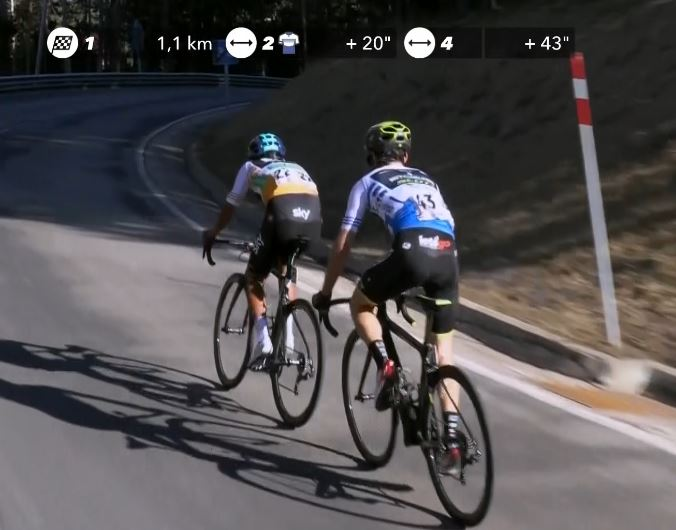 Адам Йейтс, Эган Берналь, Наиро Кинтана о 4-м этапе Вуэльты Каталонии-2019