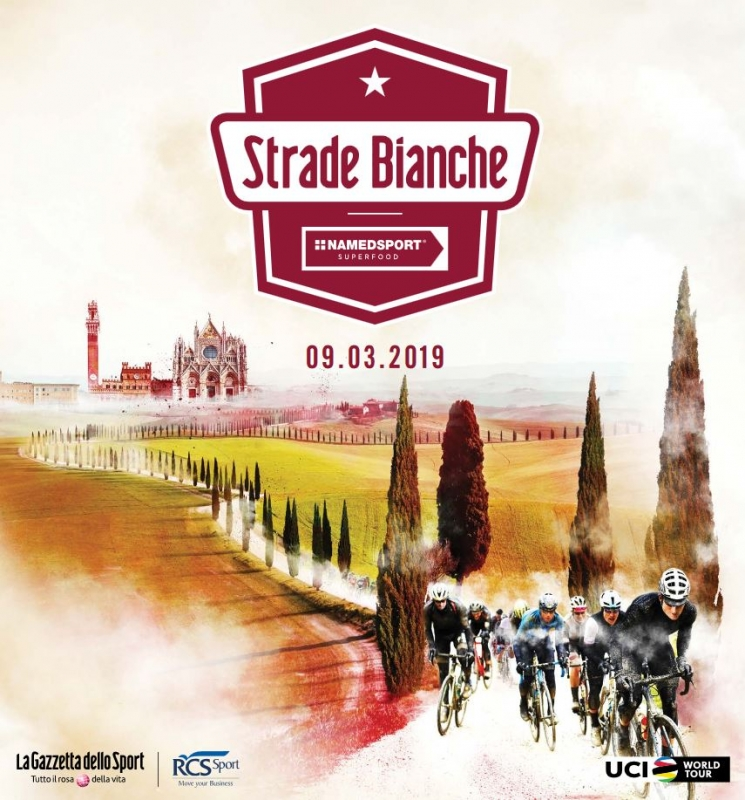 Strade Bianche-2019. Маршрут