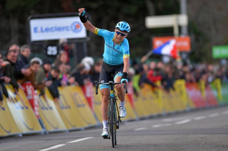 Париж-Ницца. Этап 4. Магнус Корт одерживает блестящую победу после 200 км в отрыве