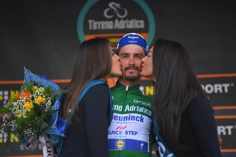 Жулиан Алафилипп – победитель 2 этапа Тиррено-Адриатико-2019