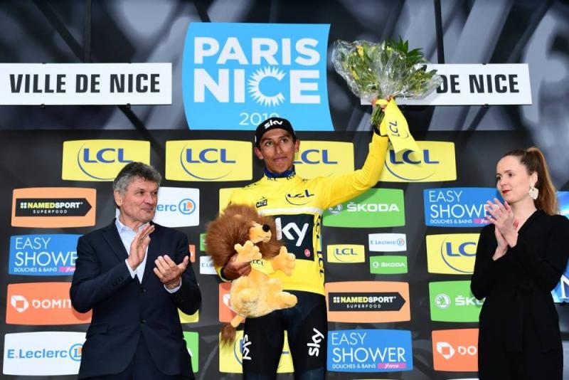 Эган Берналь – победитель гонки Париж-Ницца-2019