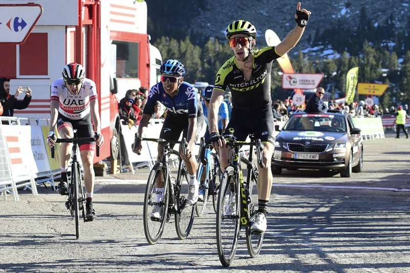 Адам Йейтс, Эган Берналь, Дэн Мартин, Наиро Кинтана, Мигель Лопес о 3-м этапе Вуэльты Каталонии-2019