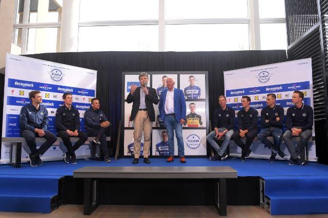 Филипп Жильбер, Боб Юнгельс, Зденек Штыбар о стратегии команды на Туре Фландрии-2019