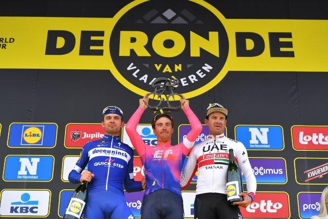 Каспер Асгрен и Александр Кристофф – призёры Тура Фландрии-2019