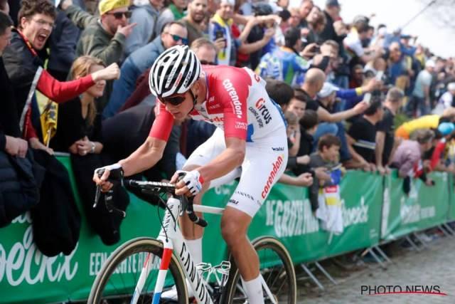 Матье ван дер Пул: «Я скорее горд, чем разочарован результатом на Туре Фландрии-2019»