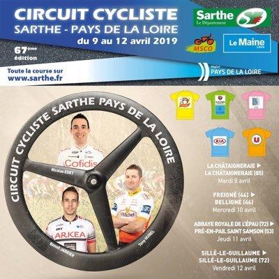 Circuit Cycliste Sarthe - Pays de la Loire-2019. Этап 3