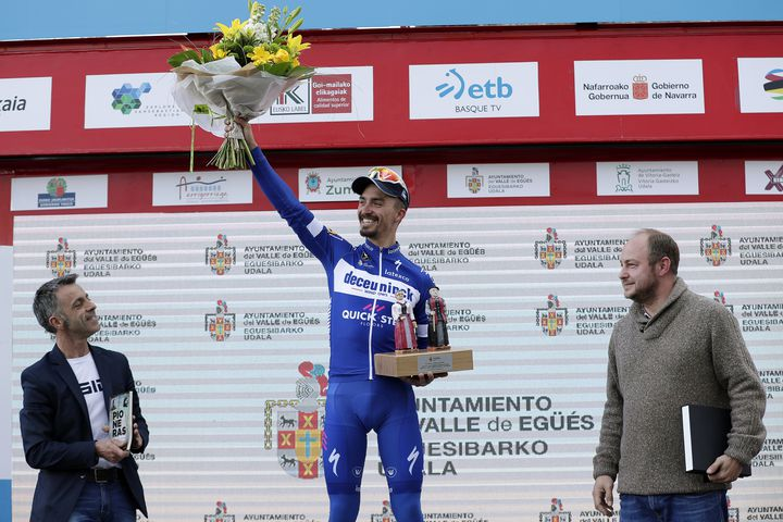 Жулиан Алафилипп – победитель 2 этапа Тура Страны Басков-2019