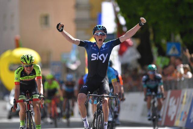 Тео Геоган Харт – победитель 1 этапа Тура Альп-2019