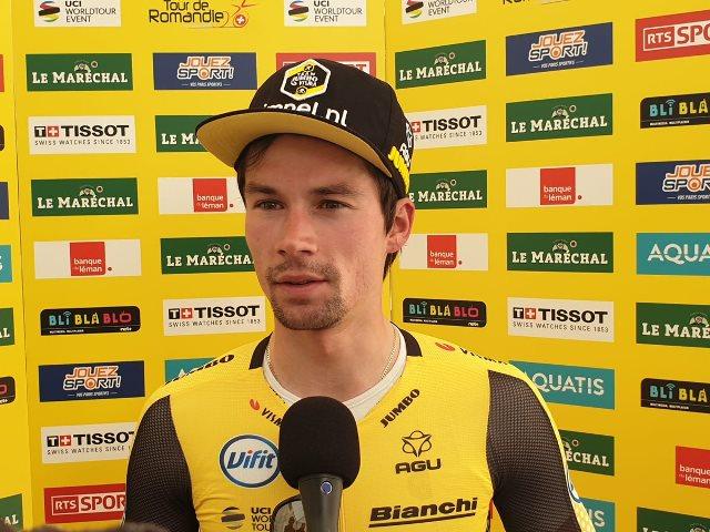 Примож Роглич – победитель 1 этапа Тура Романдии-2019